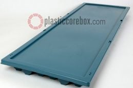bq bw size plastic core box with lid