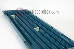 bq bw size plastic core box with seperators