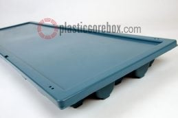 nq nw size plastic core box with lid