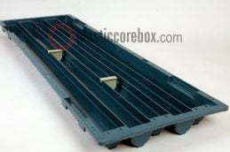nq nw size plastic core box core tray with seperators