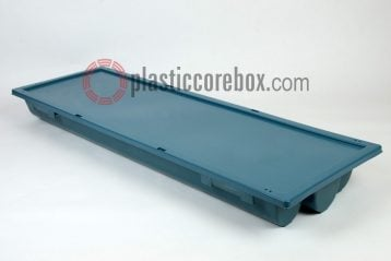 pq pw size plastic core box with lid